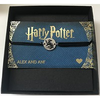 Alex and Ani Harry Potter Hufflepuff Pull Cord Bracelet New