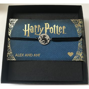 Alex Ani Harry Potter Hufflepuff Pull Cord Bracelet New