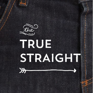 The True Straight