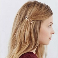 Fashion Gold Silver  For Women Punk Hair Accessories Jewelry