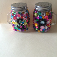 Rhinestone Salt and Pepper Shakers, create your own