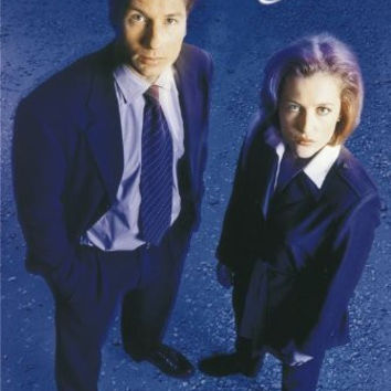 THE X FILES POSTER - MULDER AND SCULLY - HOT NEW 24X36
