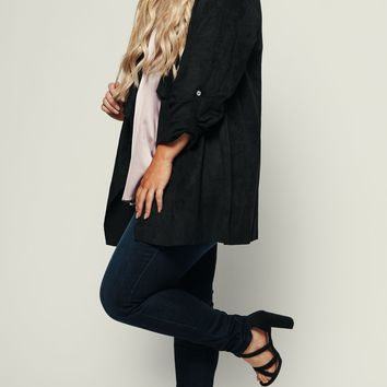 Curvy Jamming Out Jacket (Black)