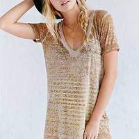 Project Social T Easy V-Neck Tee Dress-