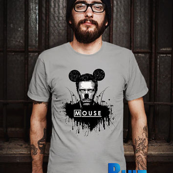 MOUSE Human Men T-Shirt - Mickey Mouse T-Shirt - Disney Design T-Shirt for Men (Various Color Available)
