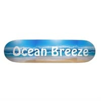 Ocean Breeze Skateboard Decks