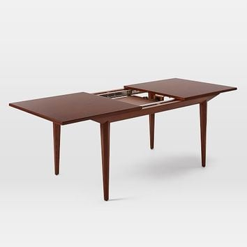 Upton Expandable Dining Table From West Elm - West elm square dining table