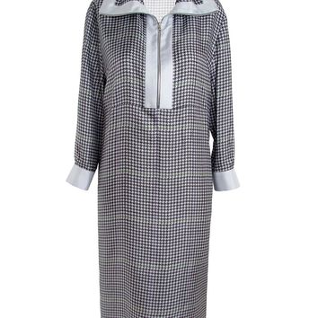 Acne Studios Burnell Houndstooth Dress