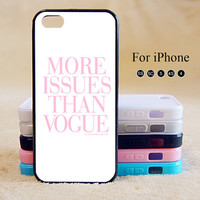 More issue than vogue,iPhone 5 case,iPhone 5C Case,iPhone 5S Case, Phone case,iPhone 4 Case, iPhone 4S Case,Case-IP002Cal