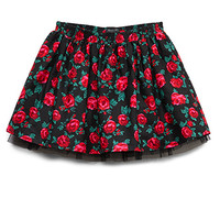 Lovely Rose A-Line Skirt (Kids)
