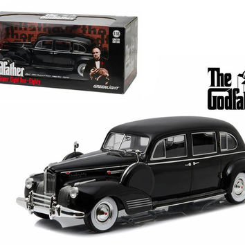 "1941 Packard Super Eight One-Eighty ""The Godfather"" (1972) 1-18 Diecast Model Car by Greenlight"