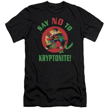 ac NOOW2 Superman - Say No To Kryptonite Premuim Canvas Adult Slim Fit 30/1