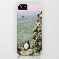 Happy Pinguin  iPhone & iPod Case by Marianna Tankelevich