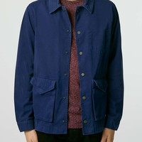 Blue Chore Jacket - Topman