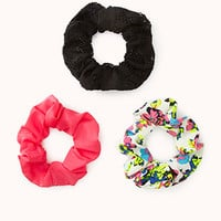 Retro Girl Scrunchie Set