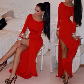 Fashion WOMEN'S Dress/Celebrity Inspired Evening Cocktail DresS Long Dress Bandage S/M/L/Xl/XXL = 5710247041