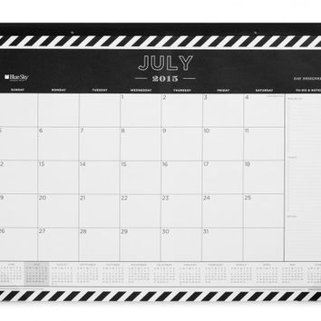 Day Designer Rugby Stripe Monthly 22 x 17 Calendar July 2015 - June 2016