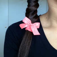 Hair bow elastic Softies hair tie by Opus 19 pick your color
