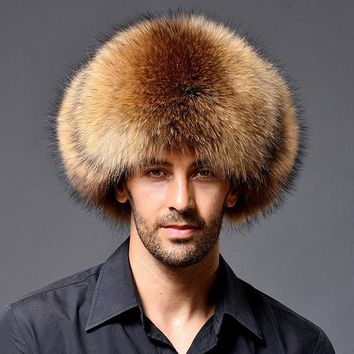 Warm Thick Artificial Fur Hats With Earmuffs