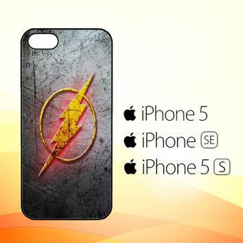 THE FLASH LOGO R0236  iPhone 5|5S|SE Case