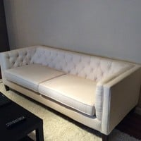 World Market Kendall Sofa in Cream- $498