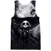 Nightmare Before Christmas Scream Tank