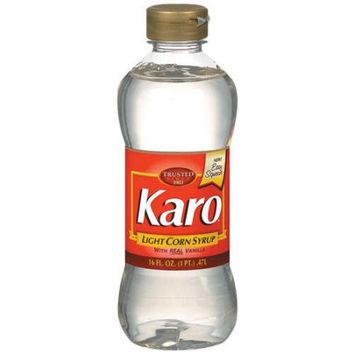Karo Light Corn Syrup With Real Vanilla, 16 fl oz - Walmart.com