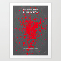 My Pulp Fiction Movie Poster Art Print by Chungkong