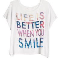 Life Is Better When You Smile Tee