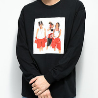 Cross Colours TLC Boxing Black Long Sleeve T-Shirt | Zumiez