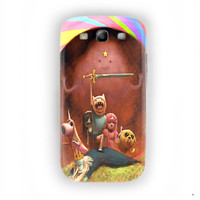 Adventure Time with Finn and Jake For Samsung Galaxy S3 Case