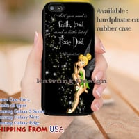 Pixie Dust  Quotes iPhone 6s 6 6s+ 5c 5s Cases Samsung Galaxy s5 s6 Edge+ NOTE 5 4 3 #cartoon #disney #animated #tinkerbell #comic dl13