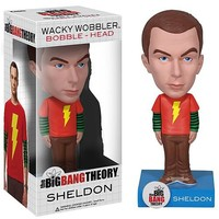 Exclusive Big Bang Theory Sheldon Shazam! Shirt Bobble Head - Funko - Big Bang Theory - Bobble Heads at Entertainment Earth