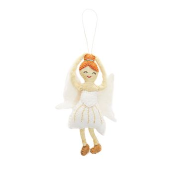 Felt Sugar Plum Fairy Ornament