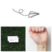 Fly Like Paper - Temporary Tattoo (Set of 4)