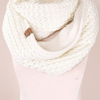 CC Sherpa Knit Scarf - More Colors!