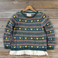Isle & Lace Sweater