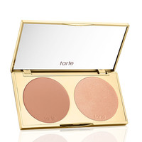 limited-edition don't be afraid to dazzle contour & highlight palette from tarte cosmetics