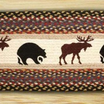 Bear/Moose Oval Patch Runner