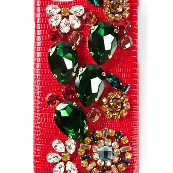Dolce & Gabbana Embellished Iphone 6 Case - Donne Concept Store - Farfetch.com