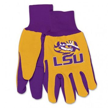 Louisiana State University Tigers - Adult Two-Tone Sport Utility Gloves