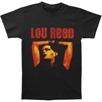 Lou Reed Men's  Rock 'N' Roll Animal T-shirt Black Rockabilia
