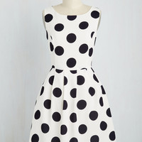 Give It Your Best Spot Dress | Mod Retro Vintage Dresses | ModCloth.com
