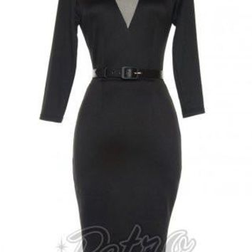 Deadly Dames Misfits Dress in Black