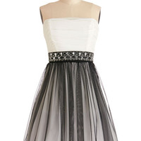 ModCloth Short Length Strapless Ballerina Alternative Allure Dress