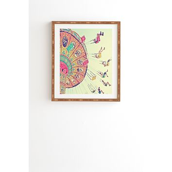 Shannon Clark Dizzying Heights Framed Wall Art