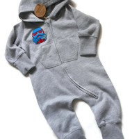 Star Wars Baby Onesuit - Baby & toddler all-in-one - Imperial Stormtrooper - Made to order