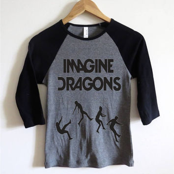 Imagine Dragons Baseball Tee