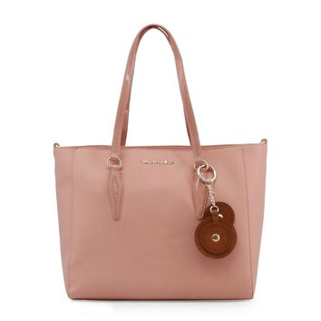 Blu Byblos Pink Synthetic Leather Shoulder Bag