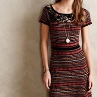 Fairisle Sweater Dress by Sparrow Red Motif